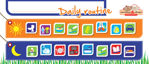 daily schedule maker for kids