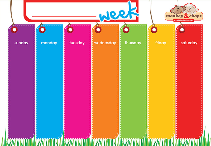 Order Weekly Activity Planner Pack